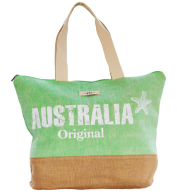 Green Australia Beach Bag