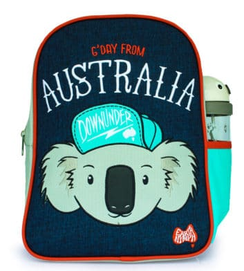 Hipster Koala Boys Backpack