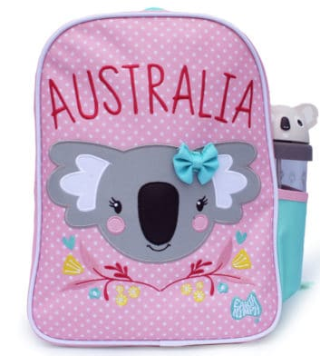 Floral Koala Girls Backpack