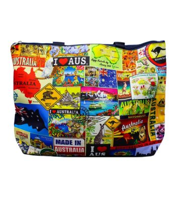 Australia Montage Large Bag