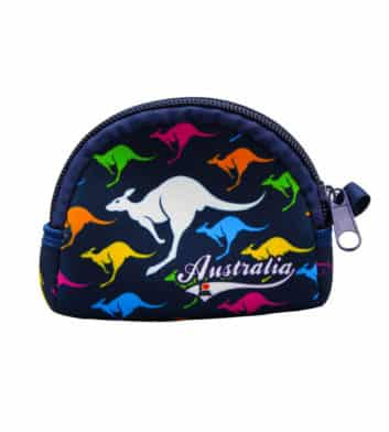 Multicoloured Kangaroo Coin Bag