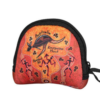 Dot Kangaroo Coin Bag