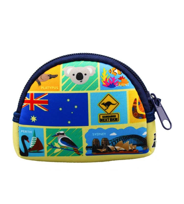Australia Destinations Coin Bag