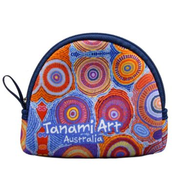 Aboriginal Coin Bag Purple
