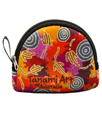 Aboriginal Coin Bag Orange