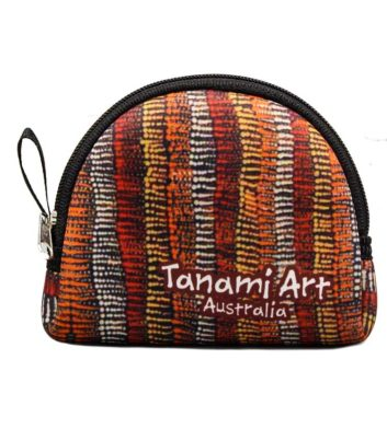Aboriginal Coin Bag Black