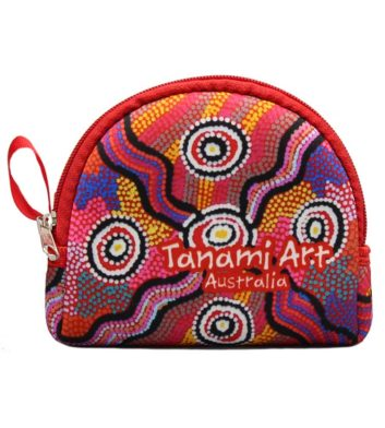 Aboriginal Coin Bag Pink