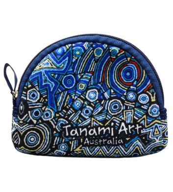 Aboriginal Coin Bag Navy