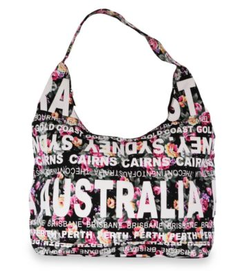 Floral Australia Tote Bag