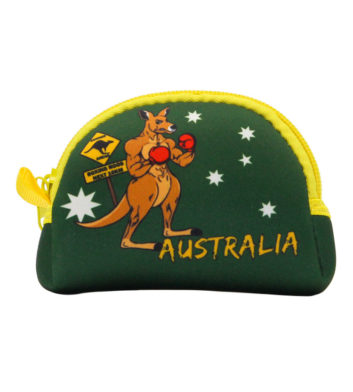 Boxing Kangaroo Coin Bag