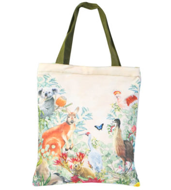 Love From Downunder Tote Bag