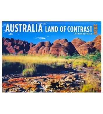 Australia Land Of Contrast 2020 Calendar
