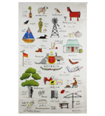 Australian Themed Tea Towels