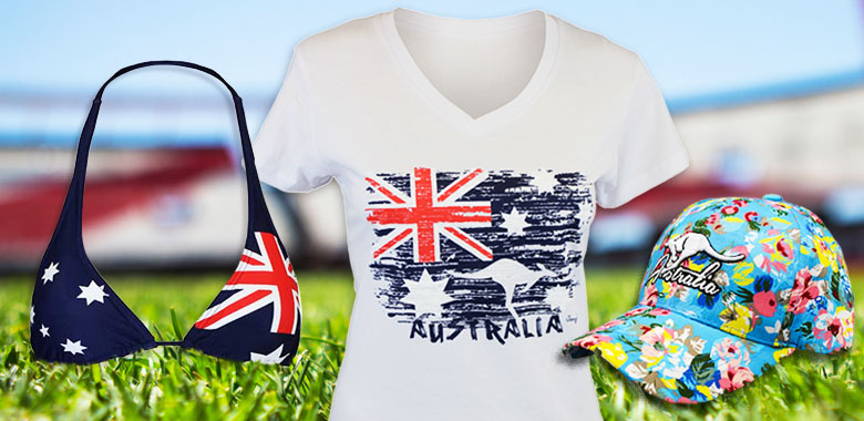 Womens Australia Day Clothing
